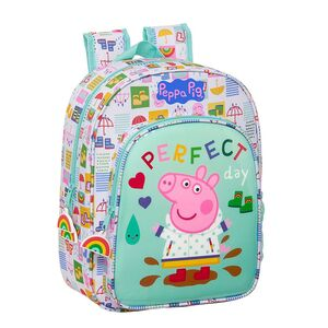 MOCHILA INFANTIL ADAPTABLE A CARRO SAFTA PEPPA PIG 260X110X340 MM