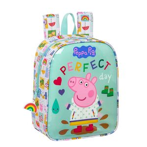 MOCHILA GUARDERIA ADAPTABLE A CARRO SAFTA PEPPA PIG 220X100X270 MM