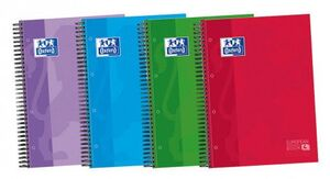 CUADERNO OXFORD EUROPEAN BOOK 4 5X5 MM A4 120 HJ 90 GR T/EXTRA