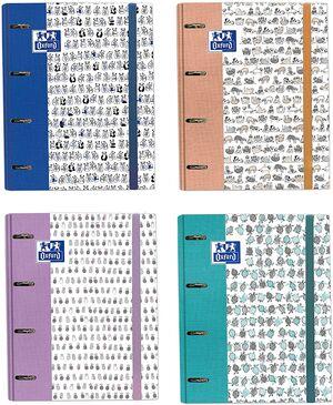 CARPEBLOCK A4 4AX35MM FUNNY TRENDS + RECAMBIO 5X5 100 HJ