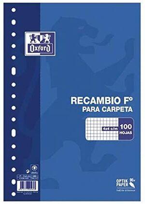 RECAMBIO OXFORD 4X4 MM Fº 100 HJ 90 GR 16 TAL