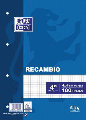 RECAMBIO OXFORD 4º 4X4 100HJ 90GR AZUL