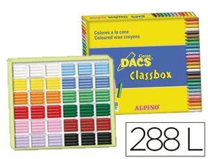 CLASSBOX 288 CERAS DACS 12 COLORES SURTIDOS
