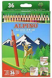 CAJA 36 LAPICES ALPINO COLORES SURTIDOS