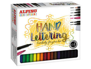 SET ALPINO COLOR EXPERIENCE LETTERING