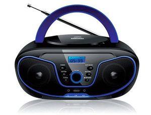 RADIO REPRODUCTOR DAEWOO CD CON USB RADIO DIGITAL 20 PRESINTONIAS POTENCIA DE SALIDA 2X2W CON 2 JACK