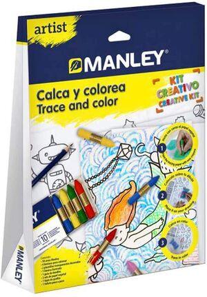 MANLEY ARTIST CALCA Y COLOREA