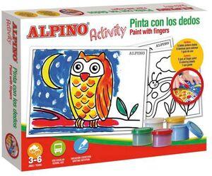 ACTIVITY ALPINO PINTO CON EL DEDO