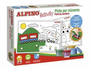 ACTIVITY ALPINO PINTAR POR NUMEROS