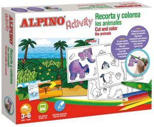 ACTIVITY ALPINO RECORTA Y COLOREA ANIMAL