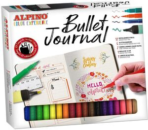 SET ALPINO COLOR EXPERIENCE BULLET JOURNAL