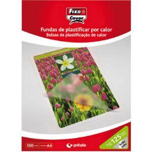 CAJA 100 FUNDAS PLASTIFICAR A4 216X303 125 MC