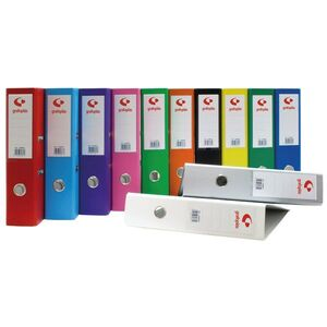 ARCHIVADOR PALANCA 65 2MM FOLIO GRAFOCOLOR ROJO