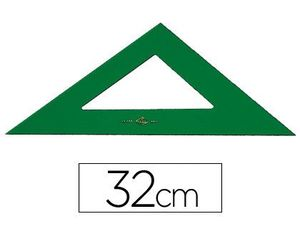 ESCUADRA 32 CM FABER CASTELL