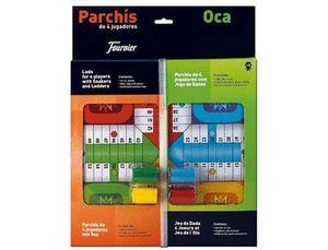 PARCHIS CON OCA TABLERO PEQUEÑO 42,5X33X4,45X33X4,4