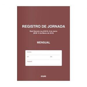 LIBRO DE REGISTRO DE JORNADA MENSUAL DOHE