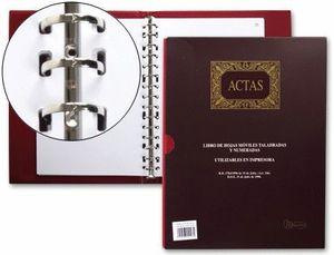 LIBRO ACTAS A4 100 HJ REMOVIBLES