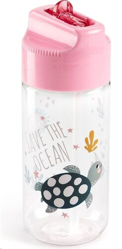 BOTELLA INFANTIL SAVE THE OCEAN ROSA MR