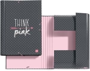 CARPETA SOLAPAS THINK PINK MR