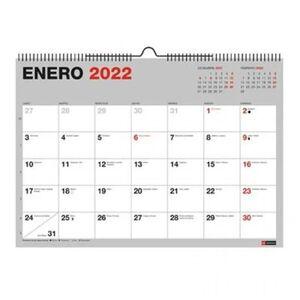 CALENDARIO PARED A4 PARA ESCRIBIR BASIC MR 2022