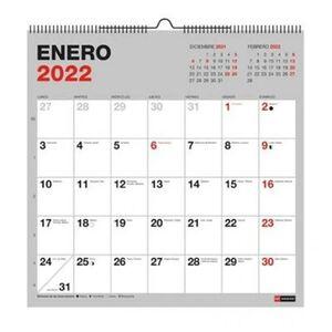 CALENDARIO PARED 30X30 PARA ESCRIBIR BASIC MR 2022