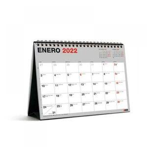 CALENDARIO SOBREMESA A5 PARA ESCRIBIR BASIC MR 2022