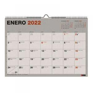 CALENDARIO PARED A3 RECYCLED MR 2022