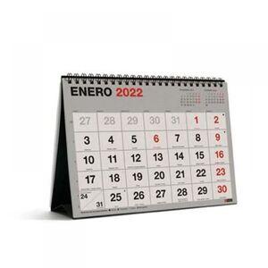 CALENDARIO SOBREMESA A5 RECYCLED MR 2022