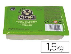 ARCILLA SIO-2 BLANCA PAQUETE 1.5 KG
