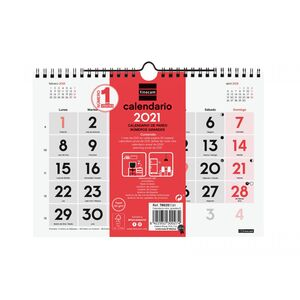 CALENDARIO PARED NUMEROS GRANDES S FINOCAM 21