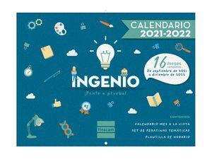 CALENDARIO PARED 16M FINOCAM IMAGENES INGENIO 2021/2022