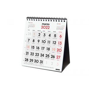 CALENDARIO SOBREMESA NUMEROS GRANDES XS FINOCAM 2022
