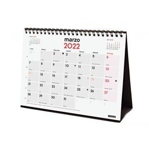 CALENDARIO SOBREMESA ESCRIBIR S FINOCAM 2022