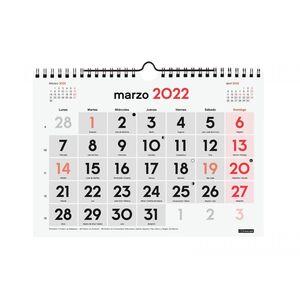 CALENDARIO PARED NUMEROS GRANDES L FINOCAM 2022