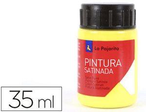 PINTURA SATINADA 35ML L.1 AMARILLO LIMON