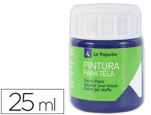 PINTURA TELA LA PAJARITA 25 ML AZUL VICTORIA T-04