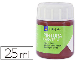 PINTURA TELA LA PAJARITA 25 ML ROJO INGLES T-11