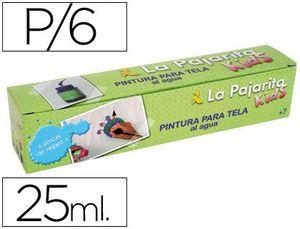 PINTURA KIT TELA 6 COLORES + PINCEL