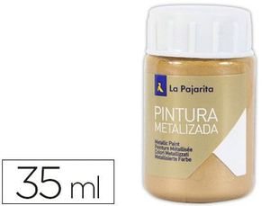 PINTURA METALIZADA LA PAJARITA 35 ML ME-4 ORO DUCADO