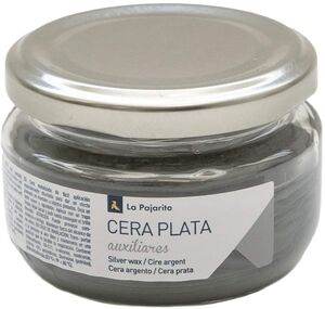 CERA SOLIDA METALIZADA PLATA 75 ML