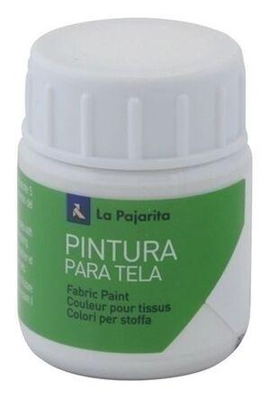 PINTURA TELA OPACA LA PAJARITA 35 ML BLANCO TO-01