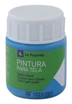 PINTURA TELA OPACA LA PAJARITA 35 ML CYAN TO-10