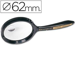 LUPA CRISTAL BIFOCAL 62 MM CON MANGO 7508