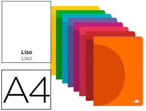 LIBRETA LISA A4 LIDERPAPEL 360 48 HJ 90 GR SIN MARGEN COLORES SURTIDOS