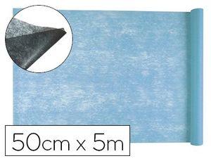 TEJIDO SIN TEJER LIDERPAPEL TERILENO 25 G/M2 ROLLO DE 5 MT CELESTE