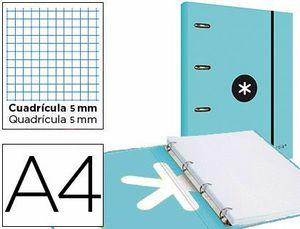 CARPETA 4A 40MM A4 ANTARTIK + RECAMBIO 5 MM MENTA