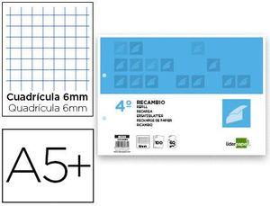 RECAMBIO 4º APAISADO 6X6