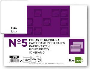 FICHA LISA Nº 5 160X220 P-100