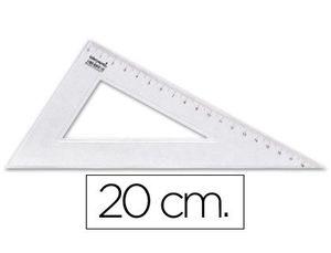 CARTABON LIDERPAPEL 20 CM PLASTICO CRISTAL