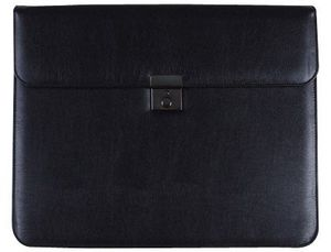 CARTERA DOCUMENTOS 80-825 NEGRA 370X300 MM -CON 2 BOLSAS INTERIORES